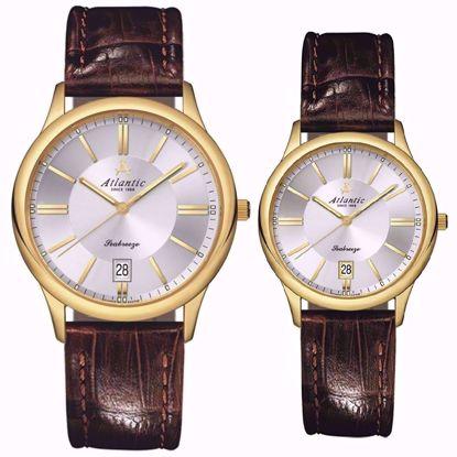 خرید آنلاین ساعت اورجینال آتلانتیک AC-61351.45.21 و AC-21350.45.21
