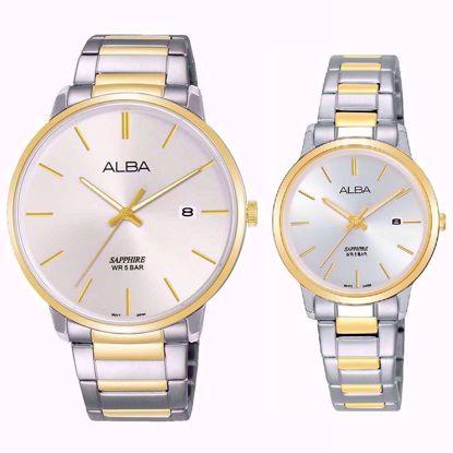 خرید آنلاین ساعت ست آلبا AS9G62X1 و AH7R52X1