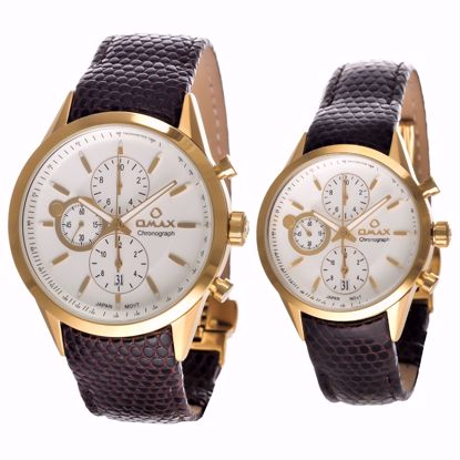 خرید آنلاین ساعت ست اوماکس MG09G65I و ML09G65I
