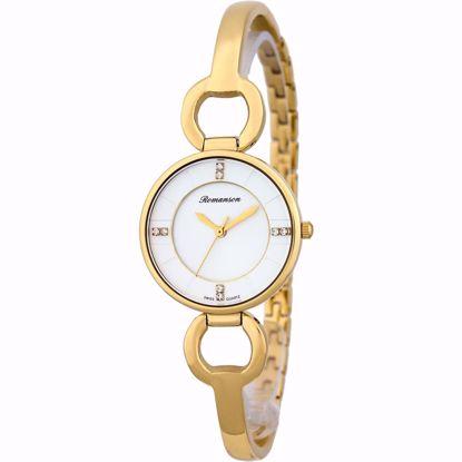 خرید آنلاین ساعت زنانه رومانسون اصل RM7A04LLGGA1R1