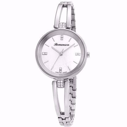 خرید آنلاین ساعت زنانه رومانسون اصل RM9A06QLWWMS2W